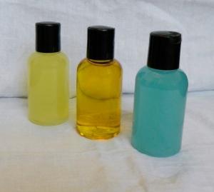left to right: Van Van Liquid Soap, Van Van Floor Wash, Psychic Boost Liquid Soap