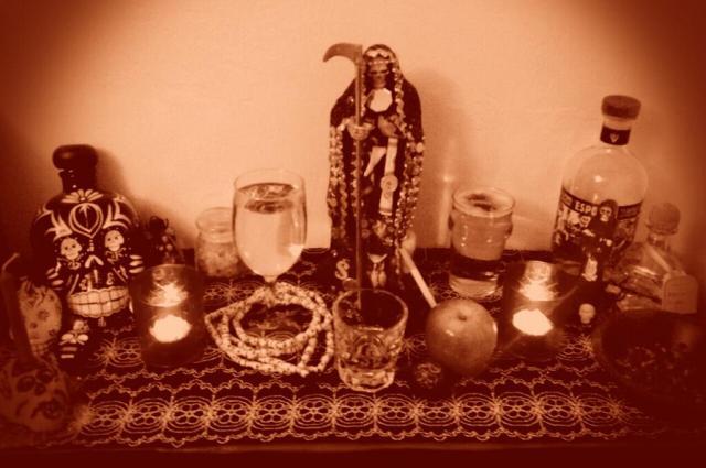 Santisima Muerte Altar