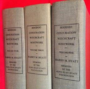 SOLD! – Harry M. Hyatt – Hoodoo Conjuration Witchcraft Rootwork Books ForSale